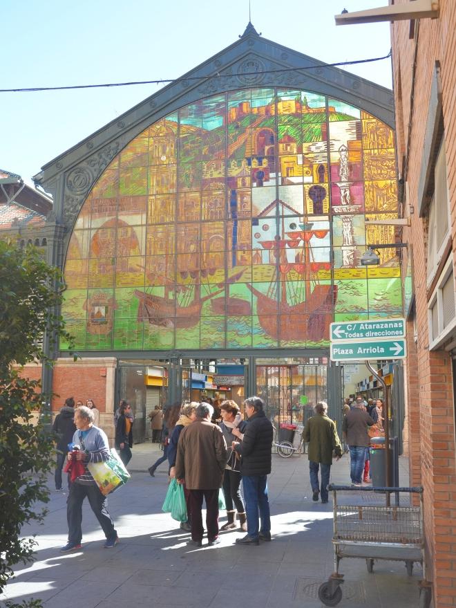 Malaga Atarazanas kauppahalli
