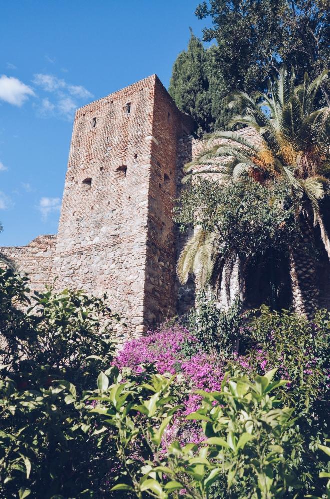 Malaga Alcazaba linna lempipaikka