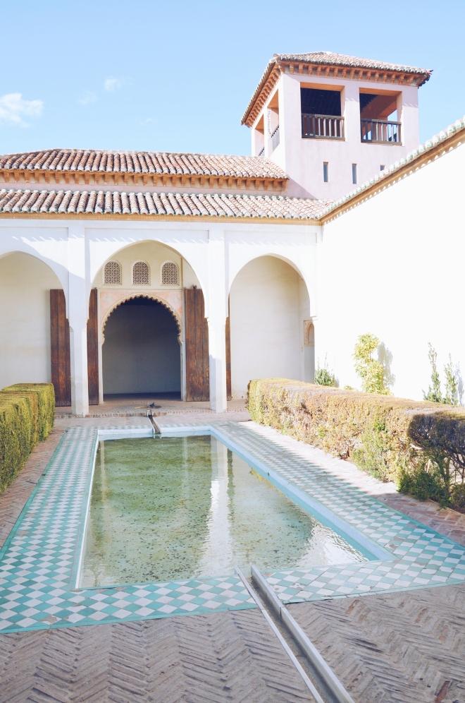 Malaga Alcazaba linna