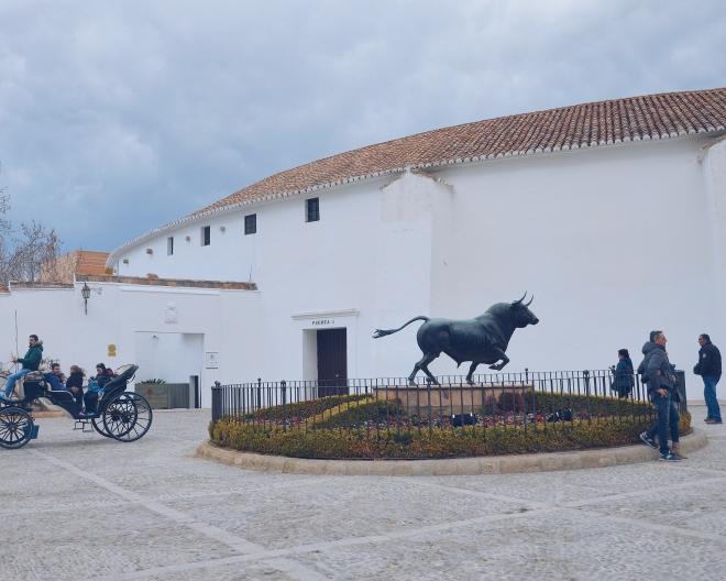 Ronda Andalusia plaza de toros härkätaisteluareena