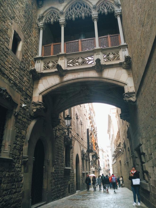 barcelona barri gotic
