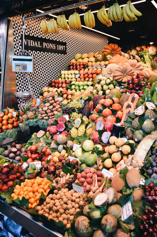 Barcelona Mercado de la Boqueria