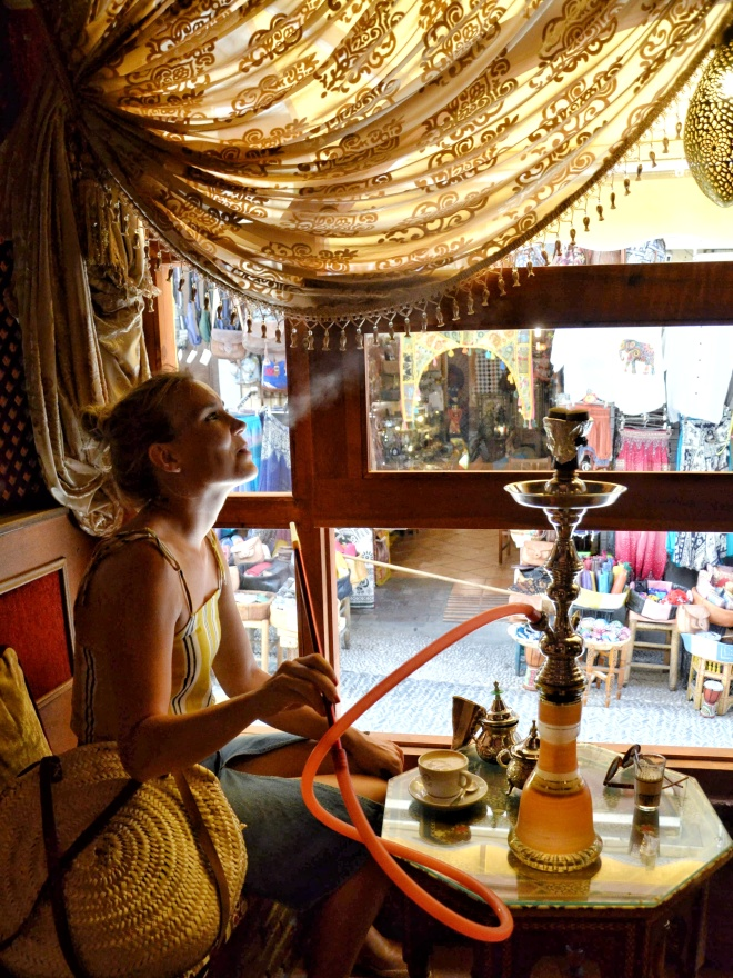 Granadan Albaicinin marokkolaiset teehuoneet