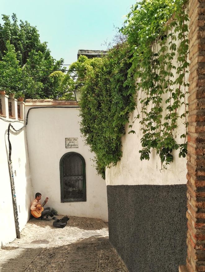 katusoittaja Albaicín Granada