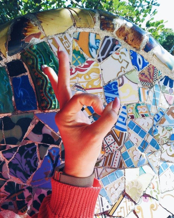 Barcelona Eevagamunda Gaudi Parc Guell