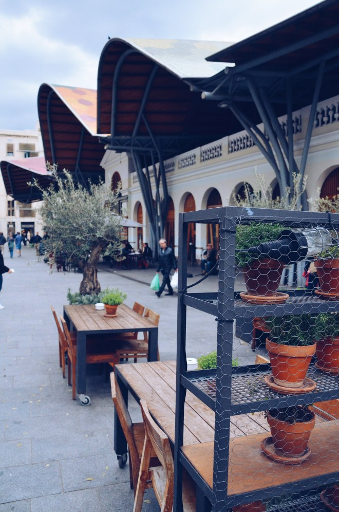 Barcelona Eevagamunda kauppahalli
