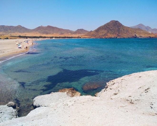 eevagamunda almeria playa genoveses espanja rannat