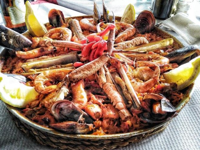 Eevagamunda Malaga ruoka paella