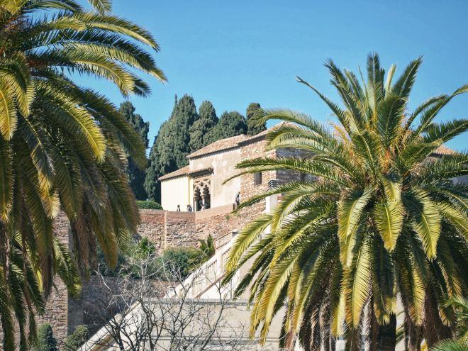 Eevagamunda Malaga vanhakaupunki