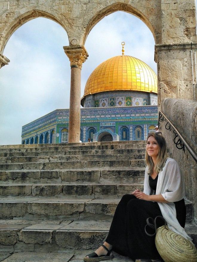 israel jerusalem kalliomoskeija
