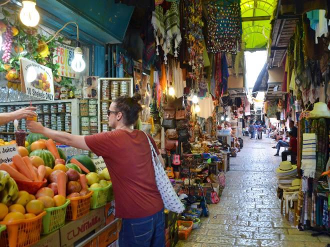 israel jerusalem vahakaupunki markkina