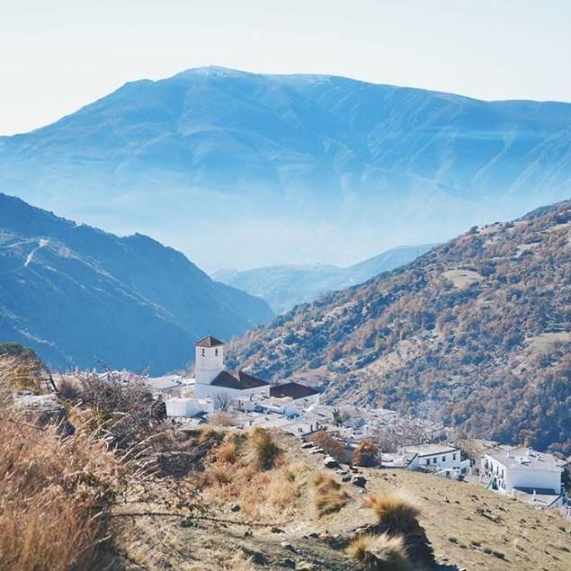 valkoiset kylät capileira maisema