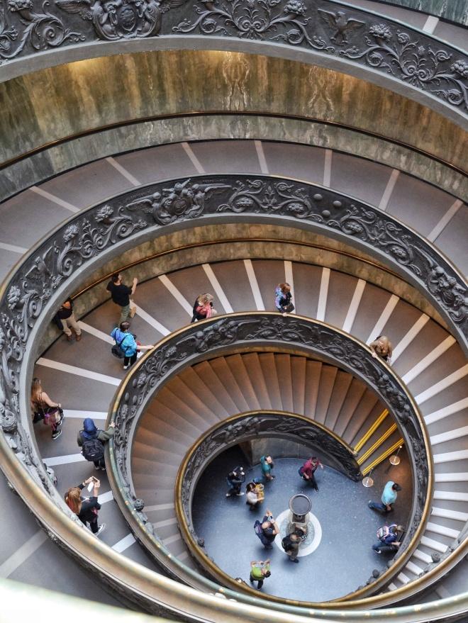 vatikaaninmuseo portaat