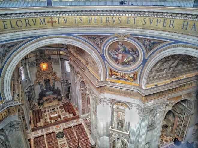 vatikaani pietarinkirkon kupoli