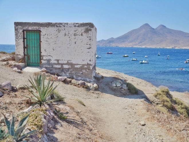 cabo de gata andalusia kylä ranta
