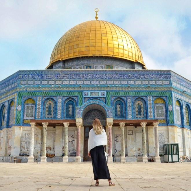 Kalliomoskeija Jerusalem Israel