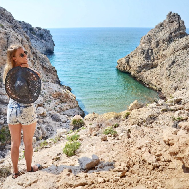 Cabo de Gata ranta Andalusia Espanja