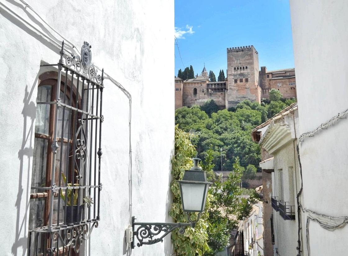 Granada Albaicín näkymät