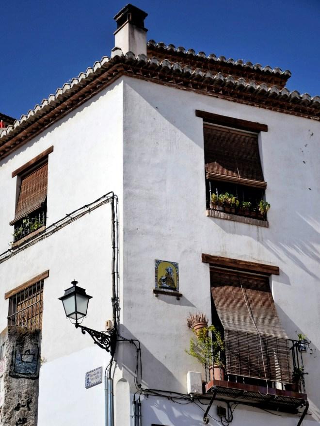 Granada Albaycin kadut