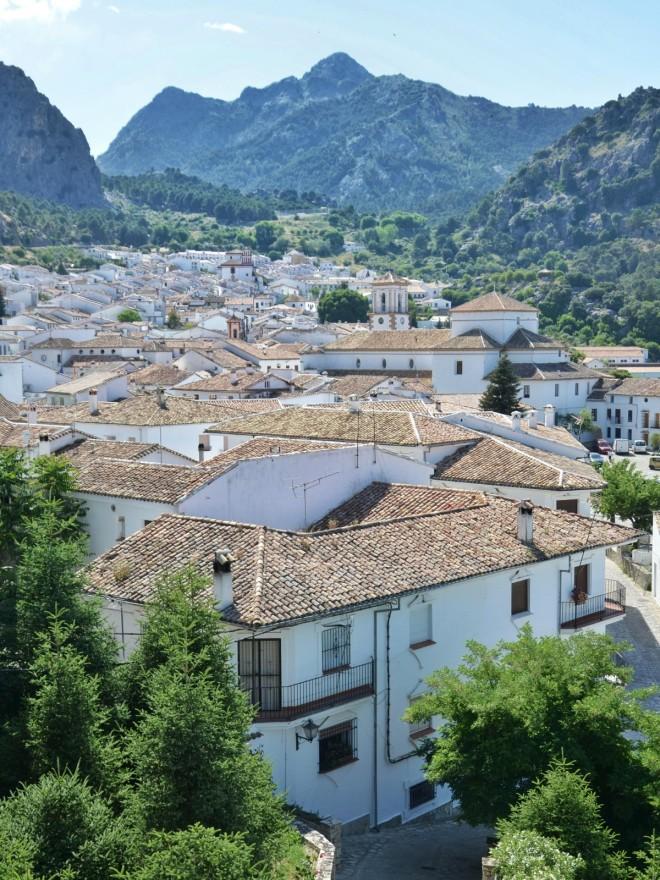 Grazalema Cadizin valkoiset kylät