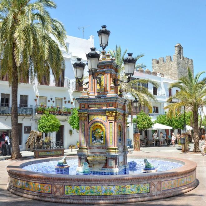 Vejer de la Frontera valkoinen kylä