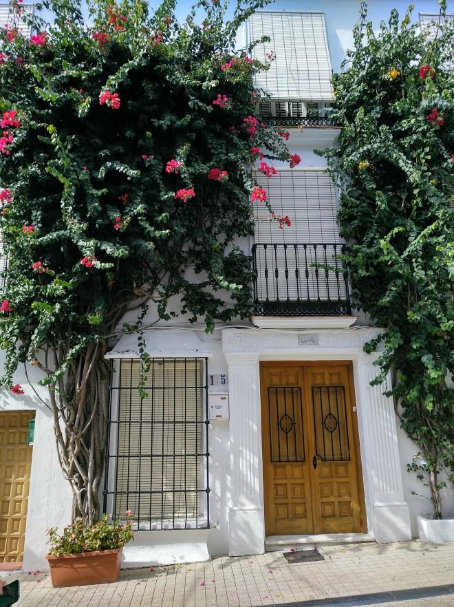 Marbellan valkoiset talot