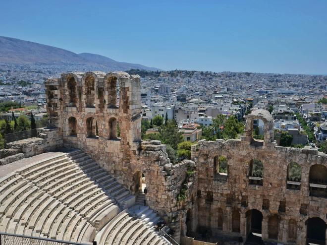 Akropolis kukkula Ateenassa