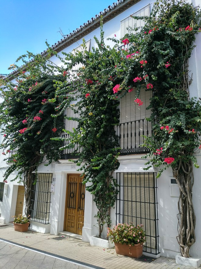 Marbellan vanhakaupunki katu