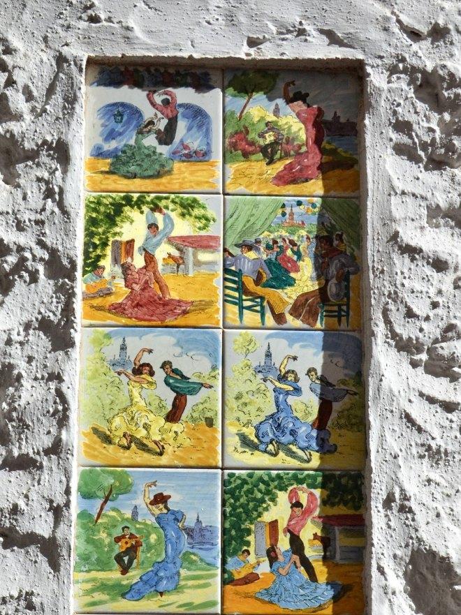 Marbellan vanhakaupunki seinälaatat