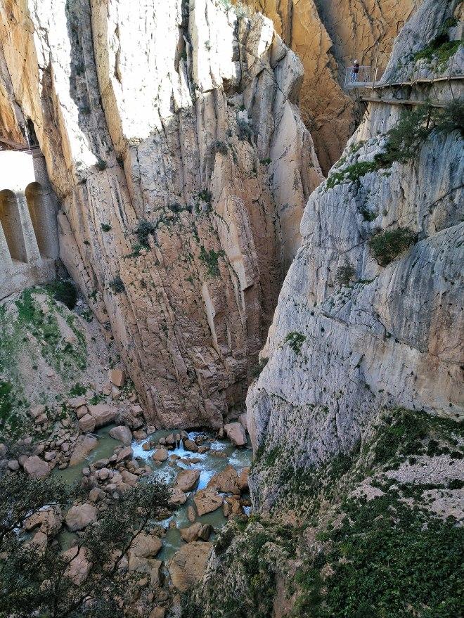 caminito del rey eli kuninkaanpolku kanjonissa