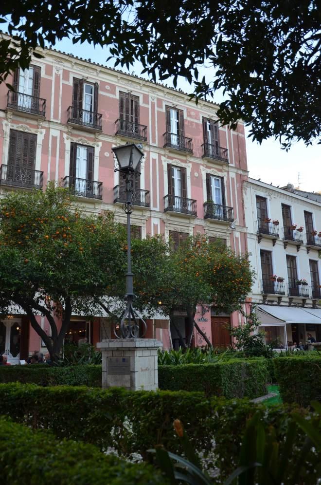 Malaga on vihreä talvellakin