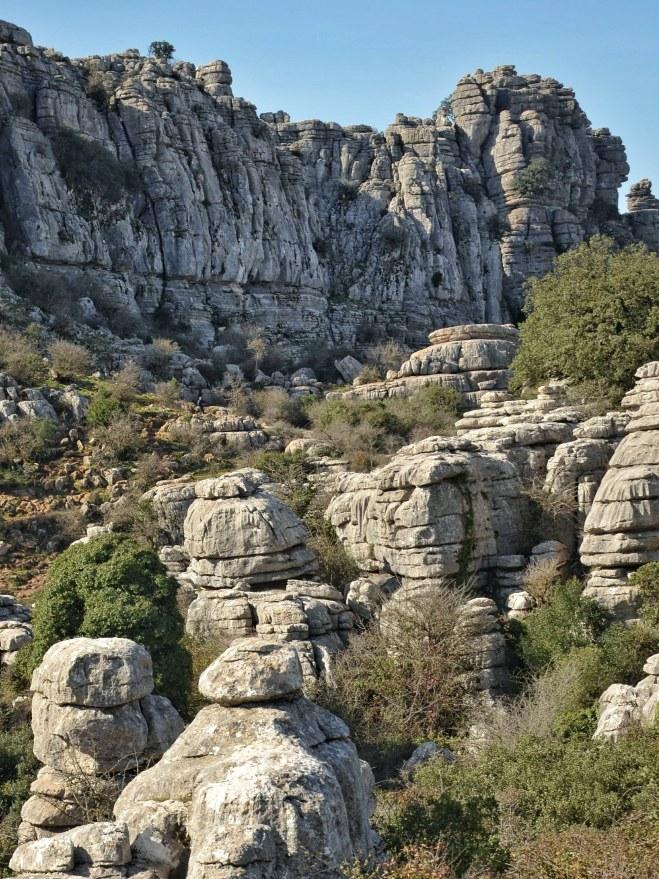 El Torcalin kivimuodostelmat hurmaavat.