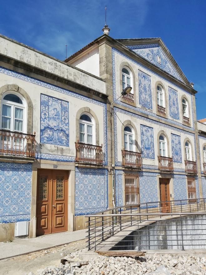Portugalin Aveiron kaakelitalo