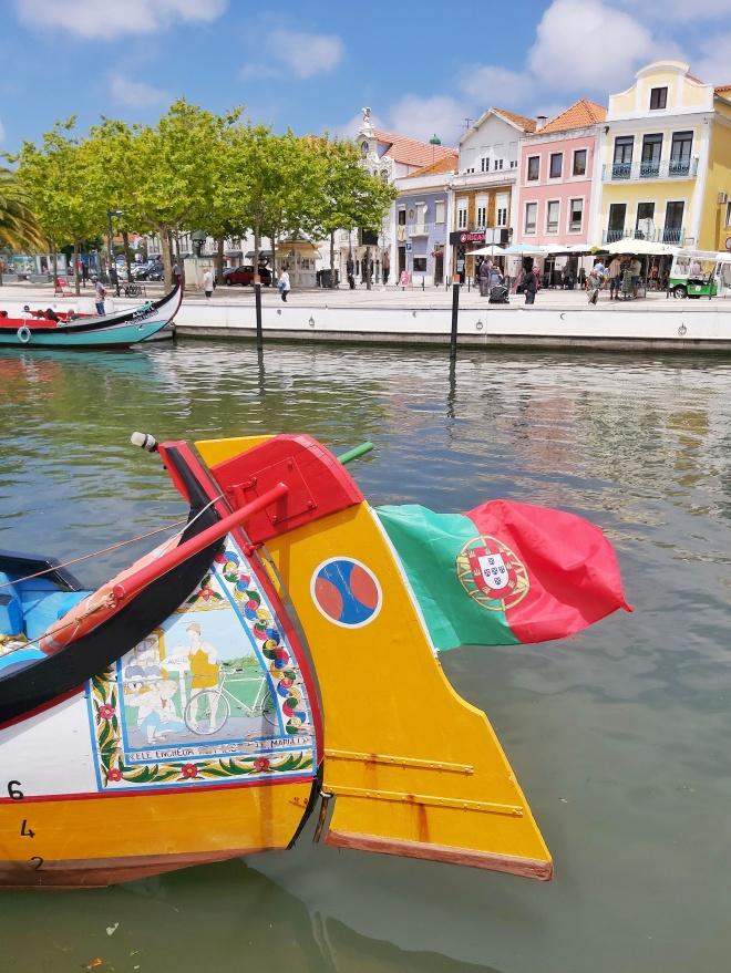 Portugalin Aveiro kanaalikaupunki