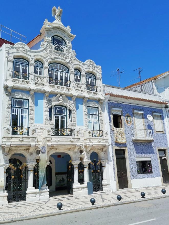 Art noveuau arkkitehtuuri Aveirossa