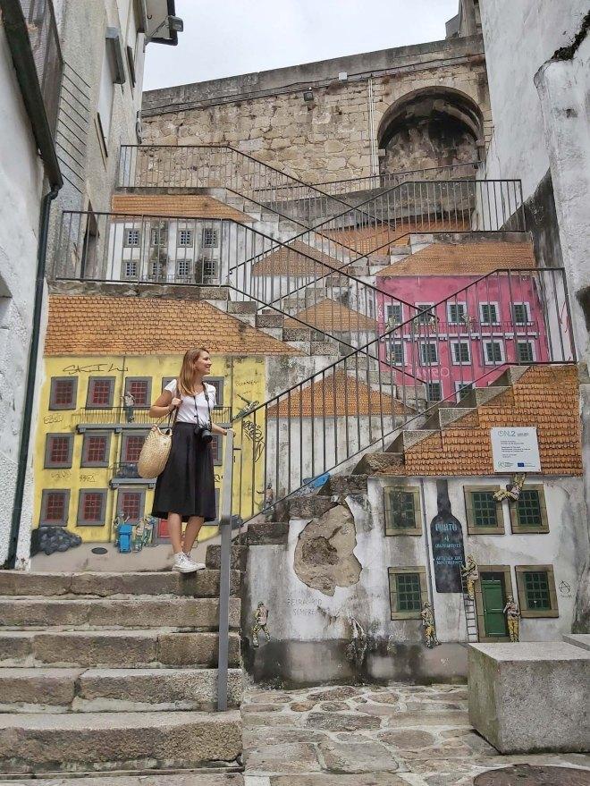 porto katutaide portaat