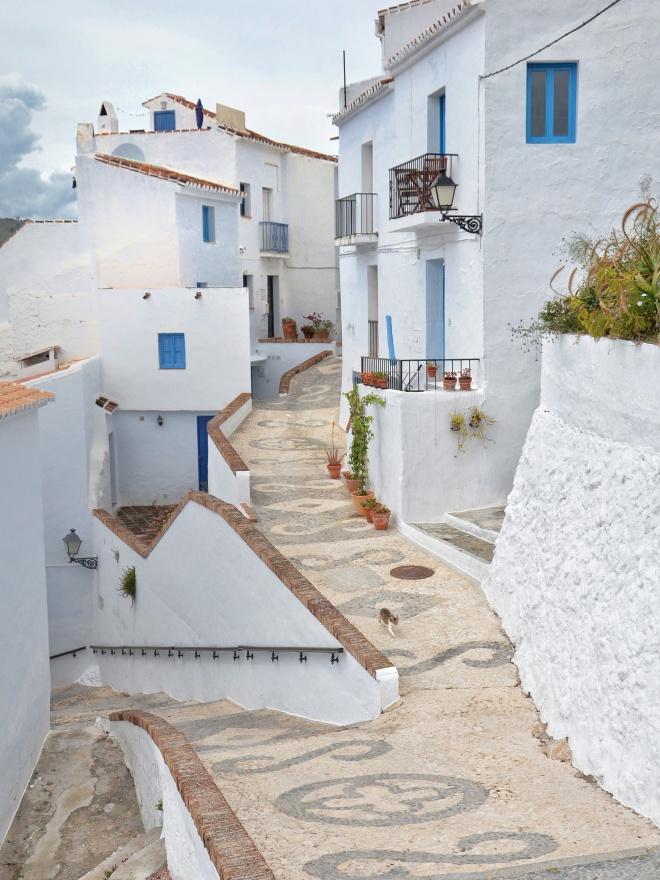 frigiliana kylä malagassa